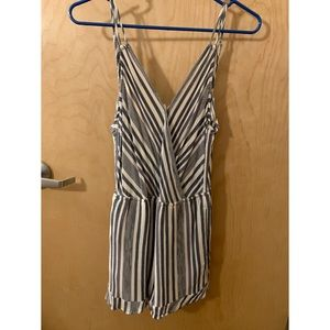 American Eagle Outfitters Pants - AE Striped Strappy Romper